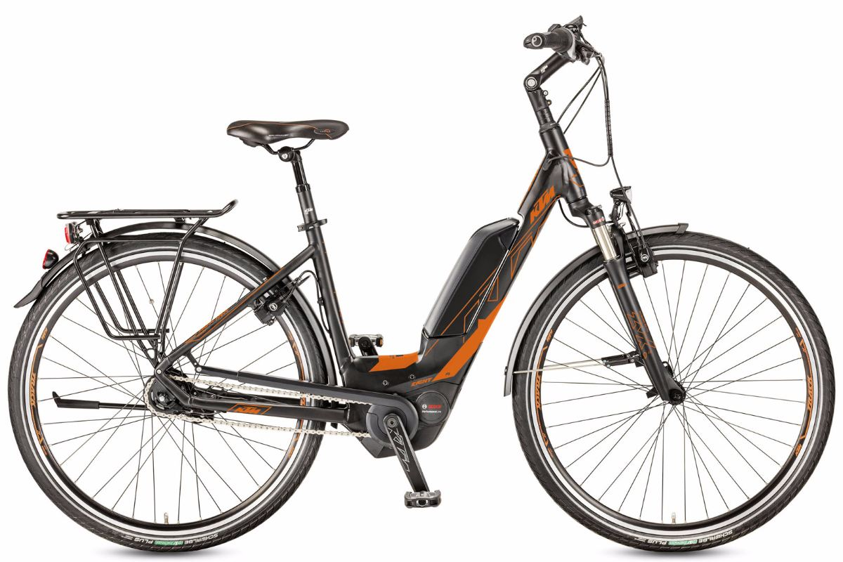 Stromrad Stuttgart | eBike / Pedelec | KTM Macina Eight 28 P5 Orange 2017