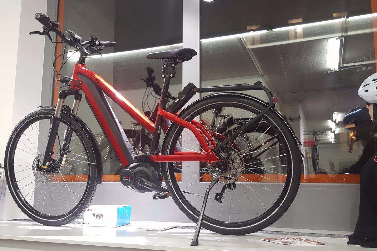 Touring With An Ebike