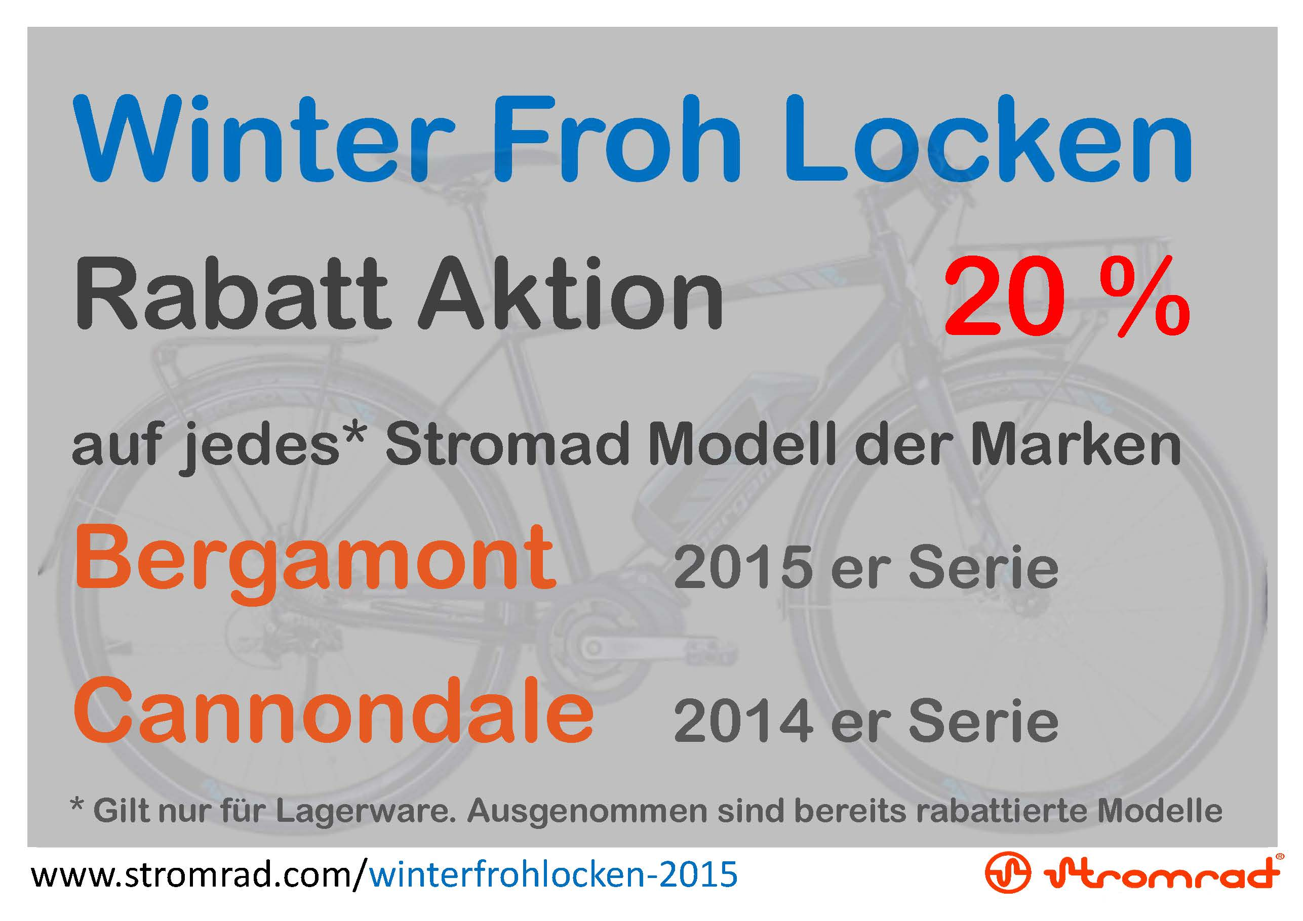 Stromrad Stuttgart Rabatt Aktion Winter Froh Locken 2015